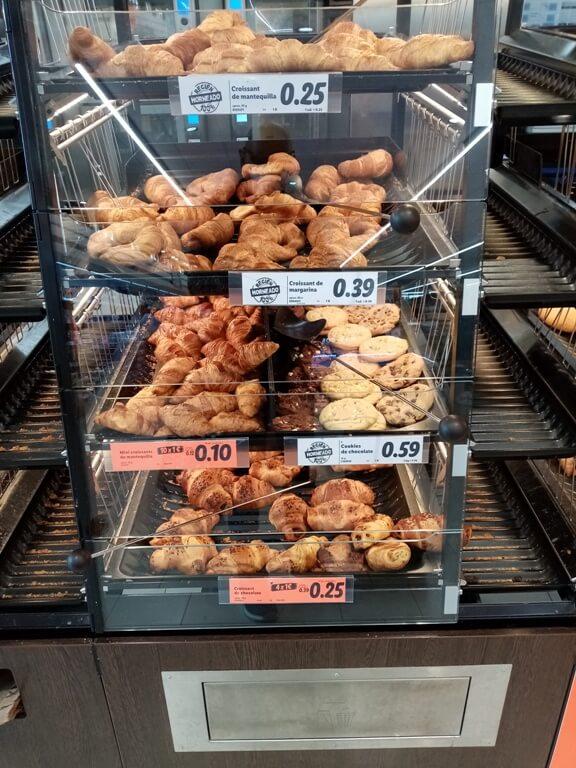 croissants et pains au chocolat LIDL