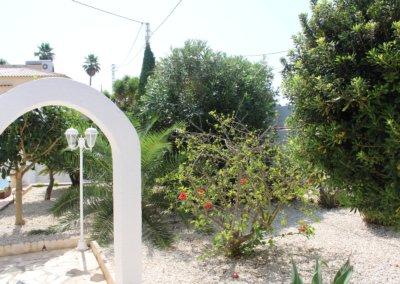 le Jardin d'agrément de la villa B&B